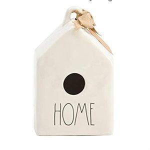 """RAE DUNN NWT🖤 Ceramic """"HOME"""" Birdhouse🖤"""